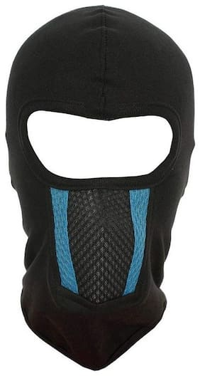 H-Store Full Unisex Balaclava Lycra Face Mask, Bike Riding Mask (Black)