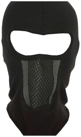 H-Store Unisex Lycra Face Mask,Bike Riding Mask, Full Black