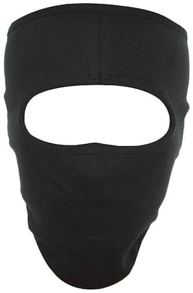 H-Store Unisex Lycra Face Mask, Bike Riding Black