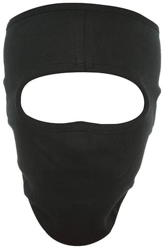 H-Store Unisex Lycra Face Mask, Bike Riding Black