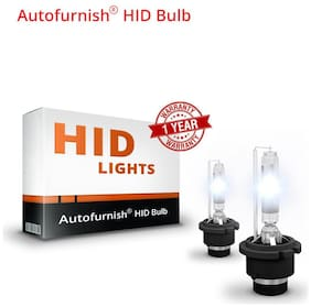 H11 + H1 Car Xenon HID Headlight Coversion Kit for Low Beam and High Beam for Tata Tigor Projector Headlamp