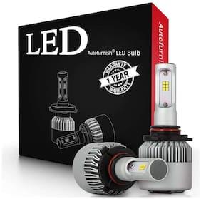 H4 6000K Car LED Headlight Bulb Pair for Volkswagen Ameo