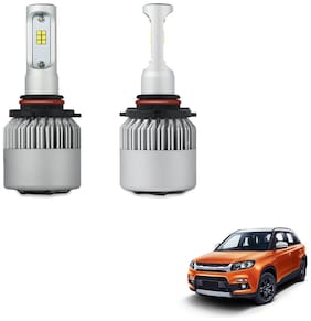 H7 + H1 LED Headlight Combo for Low Beam and High Beam for Maruti Suzuki Vitara Brezza Projected Headlamps