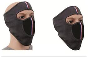 Half Face Bike Riding Mask Dust Protection, (Pack of 2)