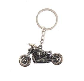 hardik Cute Funky  Metallic Keyring Key Chain for car & Bike || Man & Boys (color as per stock