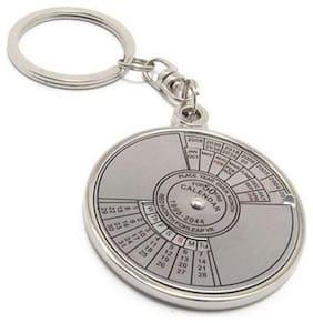 hardik metallic 50 year calender key chain