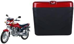 Hero Ambition Dua Polo Matt Black Red Side Box Extra Luggage Box