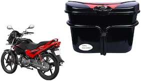 Hero Glamour Programmed FI Vivo Black Red Side Box Luggage Box for Extra Luggage for Bikes