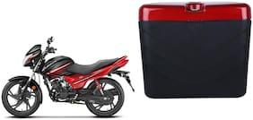Hero Glamour Dua Polo Matt Black Red Side Box Extra Luggage Box
