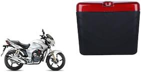 Hero Hunk Dua Polo Matt Black Red Side Box Extra Luggage Box