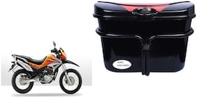 Hero Impulse Vivo Black Red Side Box Luggage Box for Extra Luggage for Bikes