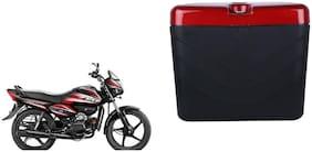 Hero Splendor NXG Dua Polo Matt Black Red Side Box Extra Luggage Box