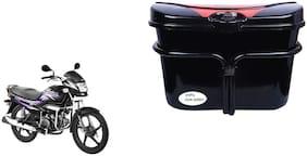 Hero Super Splendor Vivo Black Red Side Box Luggage Box for Extra Luggage for Bikes