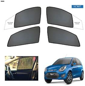 Hi Art Magnetic Sun Shades For Ford Figo - Set of 4