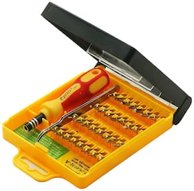 High Quality Jackly 32 In 1 Interchangeable Precise Screwdriver Tool Set With Magnetic Holder