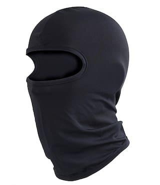 HM Evotek Balaclava UV Protection Windproof Full Face Mask Biker Bike Motorcycle Face Cover 1PC Black