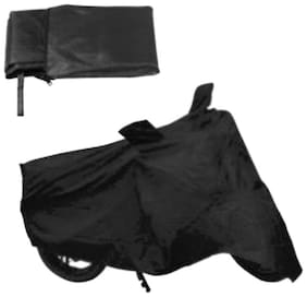 HMS BIKE BODY COVER FOR PULSAR 220CC DOUBLE SEATER - COLOUR BLACK
