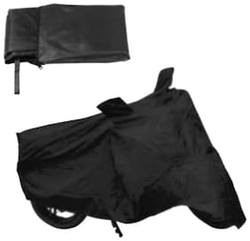 HMS BLACK BIKE BODY COVER FOR DISCOVER 100 5G - COLOUR BLACK