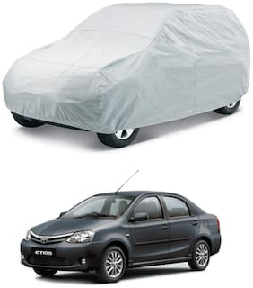 HMS CAR BODY COVER FOR ETIOS - COLOUR SILVER