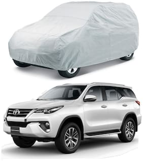 HMS CAR BODY COVER FOR FORTUNER - COLOUR SILVER