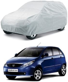 HMS CAR BODY COVER FOR INDICA VISTA - COLOUR SILVER