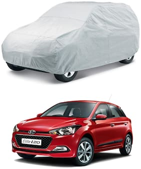 HMS SUNLIGHT PROTECTION CAR BODY COVER FOR I20 ELITE - COLOUR SILVER