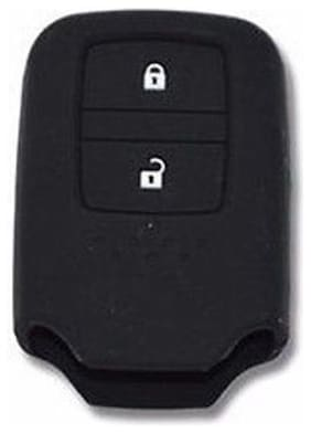 Honda 2Btn Black Car Key Cover