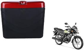 Honda CD100 Dua Polo Matt Black Red Side Box Extra Luggage Box
