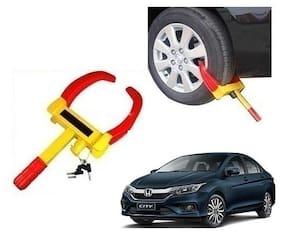 Honda City New Car Wheel Tyre Lock