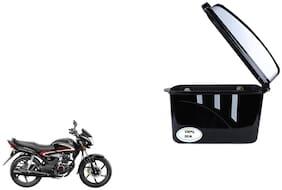 Honda Shine Dua Trendy Black Silver Side Box Extra Luggage Box