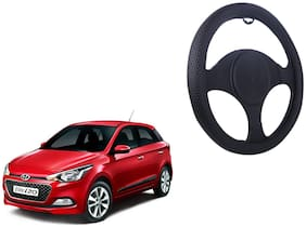 Hyundai Elite i 20 Net Design Smooth Touch Black Steering Cover