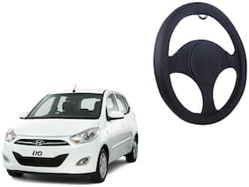 Hyundai i10 Net Design Smooth Touch Black Steering Cover