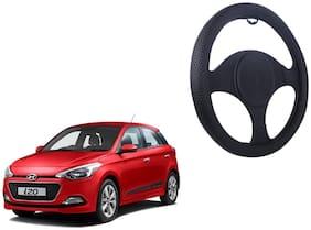 Hyundai i20 Smooth Net Black Steering Cover