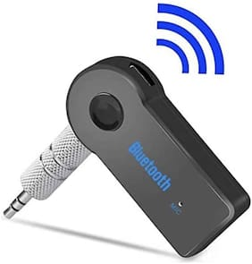 I-Birds Car Bluetooth Stereo AUX Audio Receiver 3.5mm with Mic & Call Receiver Calling Function Music Wireless Transmitter Mp3 Speaker