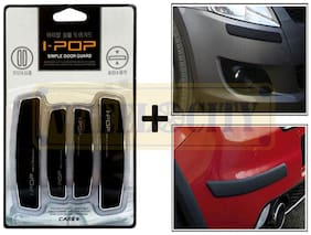I pop Black Door Guards with Car Bumper Safety Guards