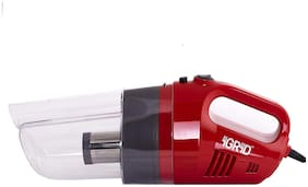 iGRiD Car Vacuum Cleaner with Powerful Suction and Stainless Steel HEPA Filter(12V) (RED)