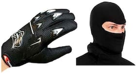 Ikoop Black Knighthood Biking Mask With Gloves