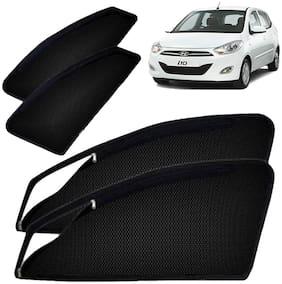 IMMUTABLE Magnetic Window Sunshades/Curtains for Hyundai i10 (Set of 4)