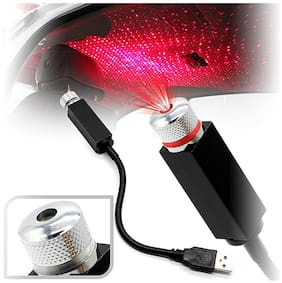 IMMUTABLE RR- 5445 Branded USB Atmosphere Decorative Laser Projector Light for Car roof Projection