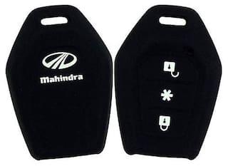 Immutable Silicone Key Cover For Mahindra Tuv 300 (Black)