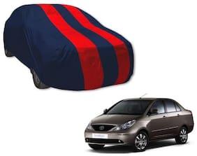 Indigo ecs red blue car cover