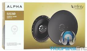"INFINITY ALPHA 6530 6.5"" 290W 3WAY SUPER TWEETERS COAXIAL CAR AUDIO SPEAKERS NEW"