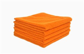 INGENS Microfiber Cloth for Car Cleaning and Detailing,Dual Sided,Extra Thick Plush Microfiber Towel Lint-Free PACK OF 5