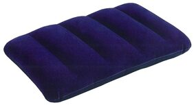 Intex Blue Travel Air Pillow For Cars And Tempo