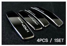 Ipop Genuine Car Door Guard Scratch Protector 3M Tape Set Of 4 (Black)