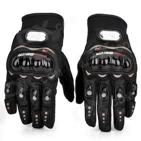 jain star pro biker bike rider gloves black color free size