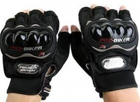 jain star pro bikers  bike rider gloves black color free size
