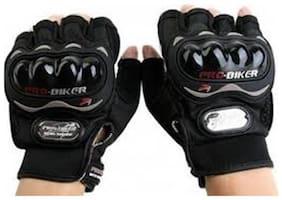 jain star probiker Full Finger Gloves For Bikers Black