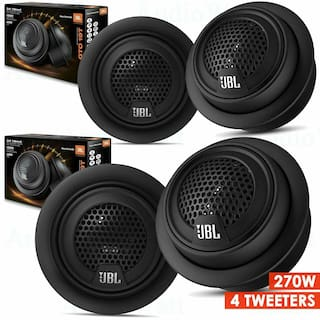 "JBL GTO19T 3/4"" CAR AUDIO PASSIVE CROSSOVER 270 WATTS COMPONENT TWEETERS - 2 SET"