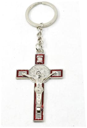 Jesus Christ Holly Cross High Quality Keychain Faith Religious and universal Gift